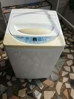 Daewoo nano silver 7.2kg top loader/washing machine