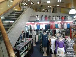 Clothing shop and hair dressing saloon for sale in Durban central.