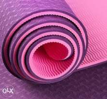 Non Slip,Comfortable and smooth double layer yoga mats