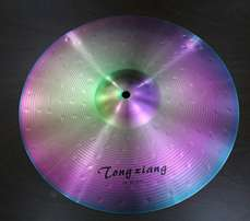 High Quality popular alloy drum colored cymbals set with cheap price