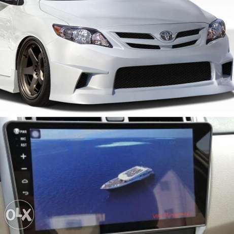 Dvd 10 inch android toyota corolla 2009+ camira