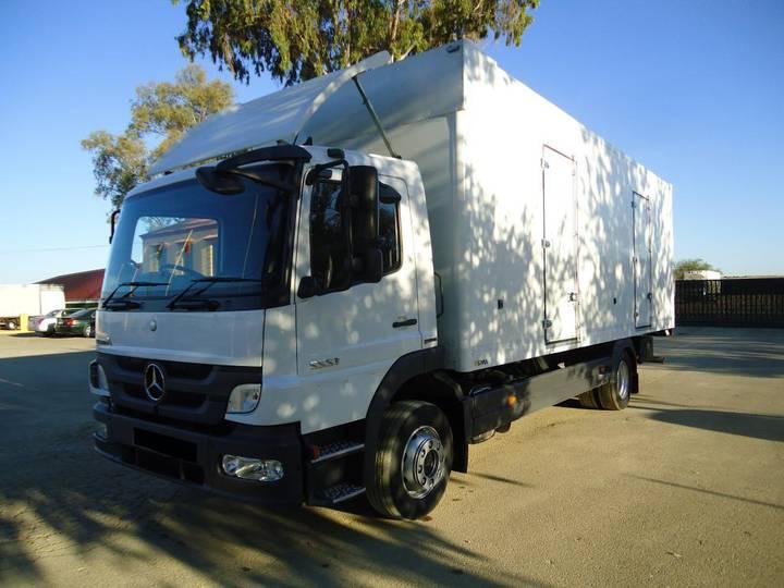 Mercedes-Benz ATEGO 12 22 FURGON PAQUETERO - 2011