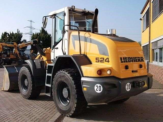 Liebherr L 524z - 2016