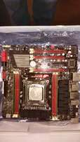 3930k six core CPU and asus motherboard