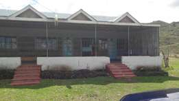 A commercial property fronting the tarmac in Nakuru for sale