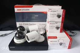 Hikvision 4 CCTV Cameras Full HD Complete Package sale