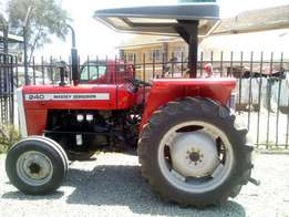Massey Ferguson MF 240,50 Horse Power, Perkins Engine and 2 Disc Plo