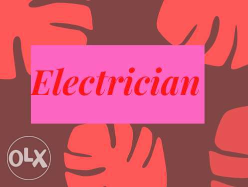 Best Help of home electric fix you can consider me any time,