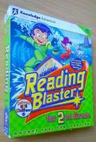 Reading Blaster for Grade 2. Ages 6-8.