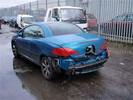 Stripping Peugeot 307 cc for spare parts