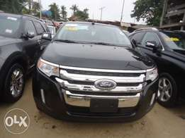Toks 2012 Ford Edge Black. Direct tokunbo