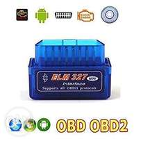 OBD 2 diagnostic tool.