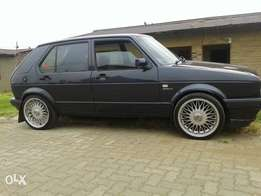 golf velocity,with drop suspension...eagle rims