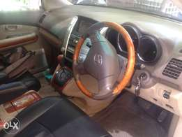 Toyota harrier clean