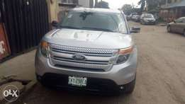 Registered ford explorer 2012 model