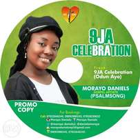 Cd titled 9ja celebration ( odun ayo ) xmas song