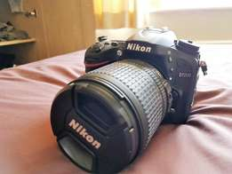 Nikon D7200 with 18-105mm lens for sale