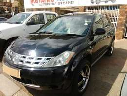 2006 Nissan Murano With Sunroof For R69k