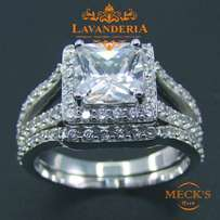 Trendy Fashion Style Fine Genuine 925 Sterling Silver Engagement Ring
