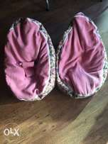 Baby and todler bean bags with staps for baby