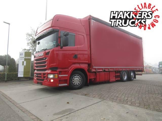 Scania R490 6x2 Lenk Lift Top Ret - 2014