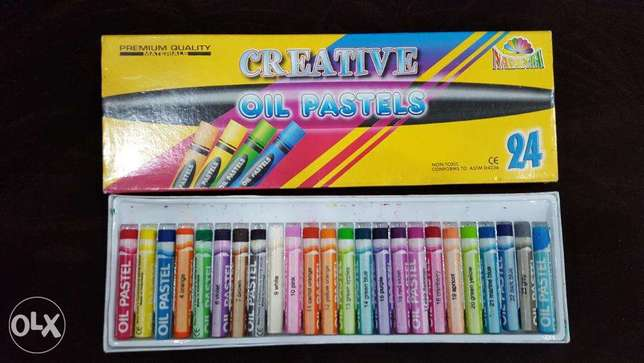 Creative Oil Pastels 24 nos