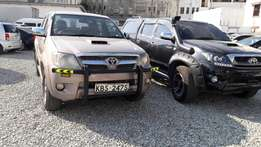 Toyota hilux donble cab used car