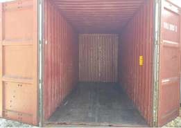 I have 20'ft/6m and 40'ft/12 containers available now