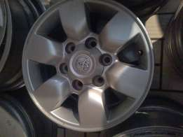 Toyota mags on special now selling for 15 ''6x139 pcd R 3000.a set
