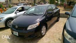 Clean Registered Toyota Corolla 09