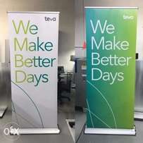 Banners Roll up banners large format