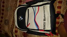 Pure leather bmw m power bag