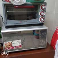Microwave and oven (sold together or saperately)