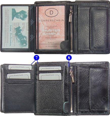 3c4eb3472537d Modny elegancki portfel męski skórzany w pudełku Różne Kolory Wild Lublin -  image 4