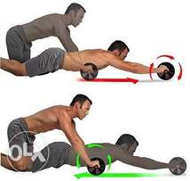 AB Wheel for great quick gain of 6packs, triceps and loose the tummy