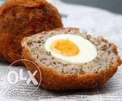 Snack on Sumptuous Scotch Eggs and Spicy Meatballs