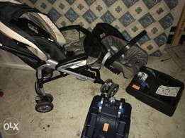 Peg perego travel system plus 2 base sets