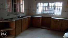 Three bedroom with one room boys quarters for rent