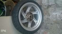 scooter 13inch rims