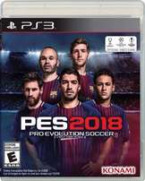 Ps3 Pes18 with Option File and Fix Kits + Names + Logos