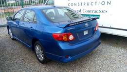 Super foreign used corolla sport.