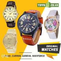 Original Casio, Naviforce, Curren, Geneva & more watches on Offer