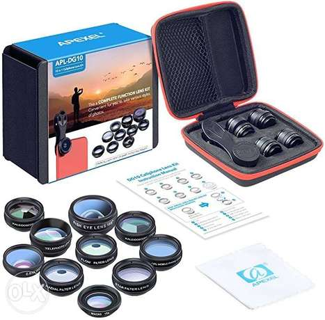 APEXEL 10 in 1 Mobile Camera Lens Kit | Brand New