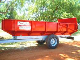 DACO Manufacture Tipper Multi Series Trailer