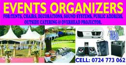 tents,seats,pa,catering services