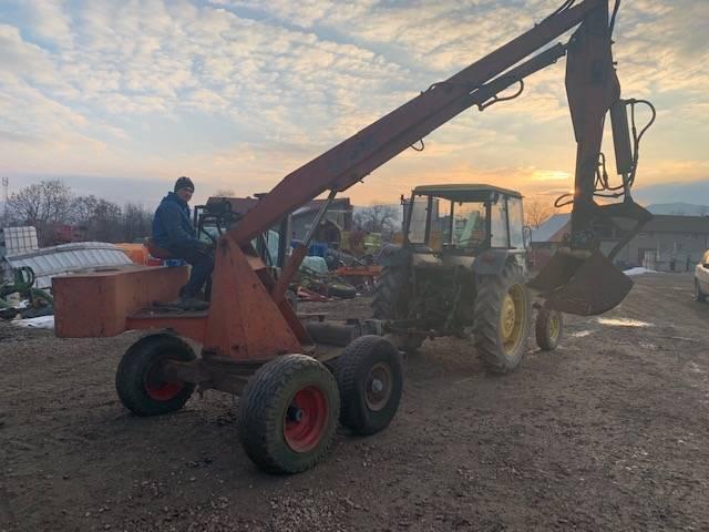 AB Excavator Agricol pe priza de putere