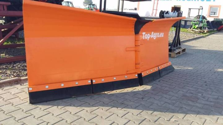Top-Agro Snow Plough Heavy Duty 2,6m Vario - 2017