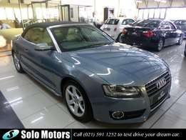 2011 Audi A5 2.0 TFSi Cabriolet Multitronic Convertible