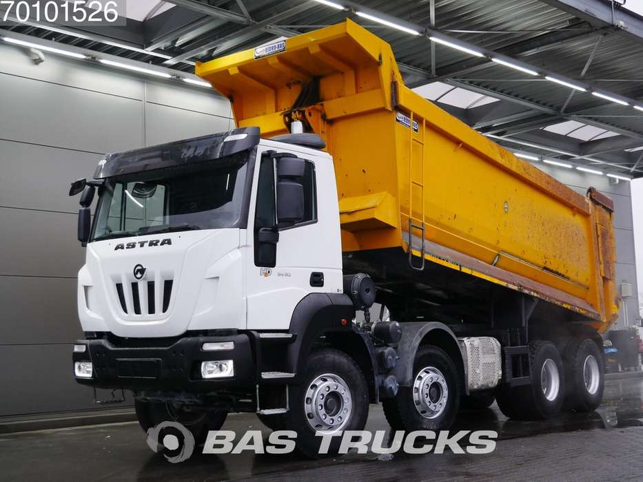 Iveco Astra HD9 84.50 8X4 27m3 Big-Axle Steelsuspension Euro 6 - 2017