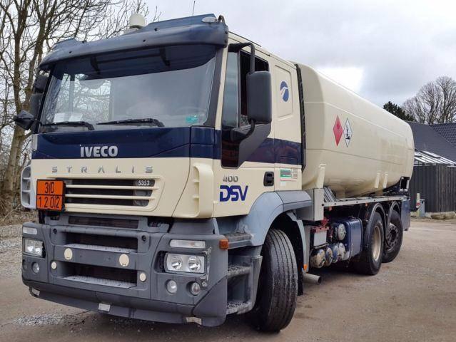 Iveco Stralis 6x2 Tank ADR 20.000 Liter Petrol/fuel - 2004